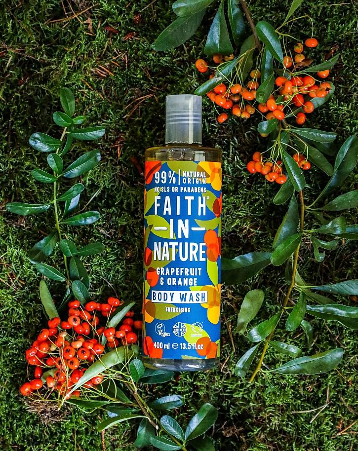 Sprchový gel s výtažky grepu a pomeranče