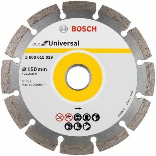 BOSCH Diamantový dělicí kotouč ECO For Universal, 150 mm, 10ks