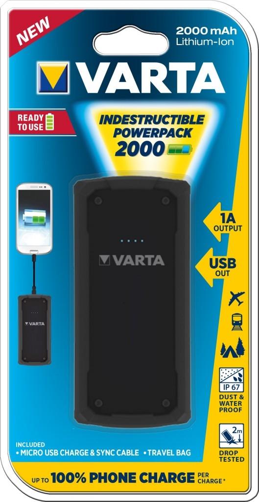 Varta Indestructible 2000 Powerpack
