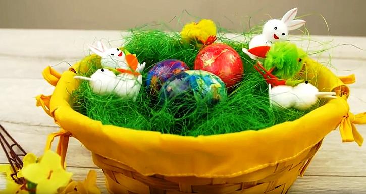 Lakovaná velikonoční vajíčka 1
