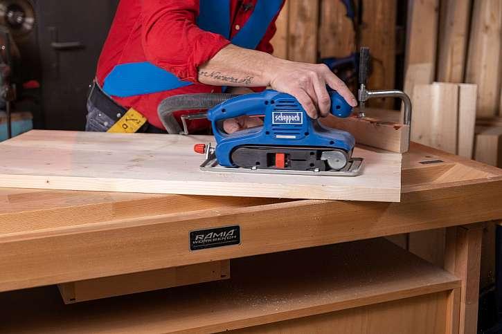 Pracovní stoly a hoblice pro kutily i pro profesionály (Zdroj: Prima DOMA)