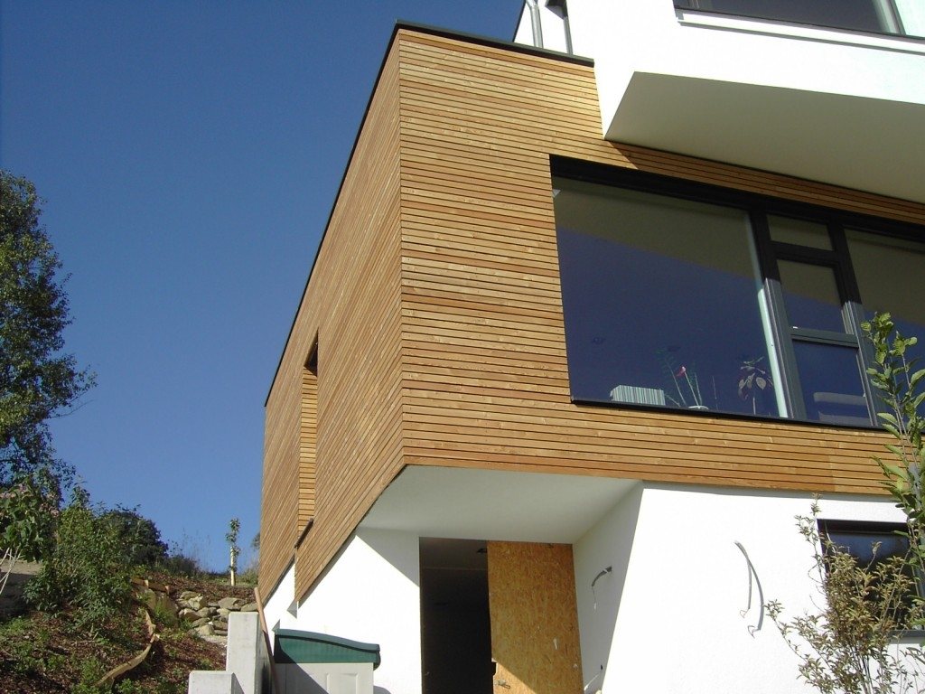 Dřevěná fasáda - správné použití materiálu