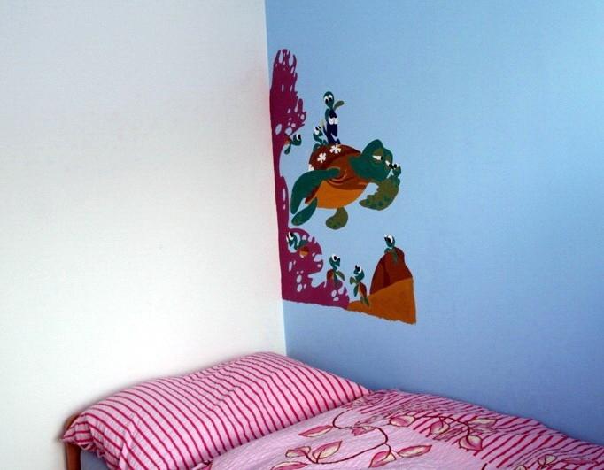Návod na malování obrázků na zeď – barvy Remal