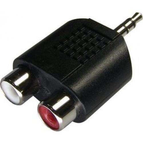 SENCOR Konektor SAV 118-000 3,5s.jack-2xRCA F P
