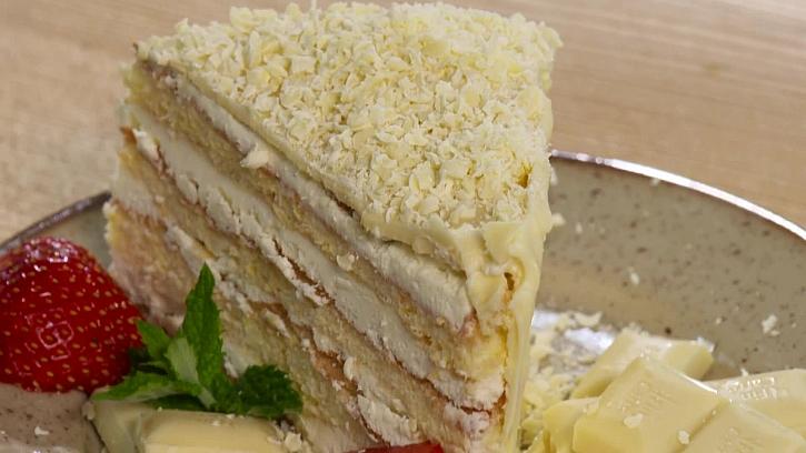 Recept na vanilkové řezy bez lepku