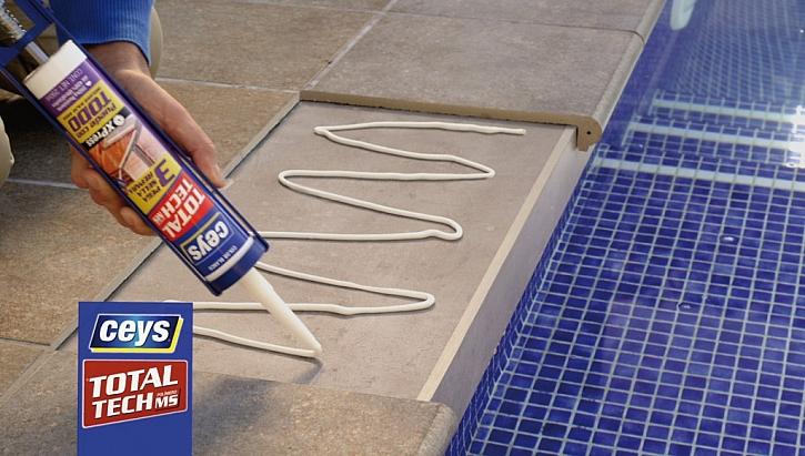 Oprava dlaždice u bazénu i v bazénu