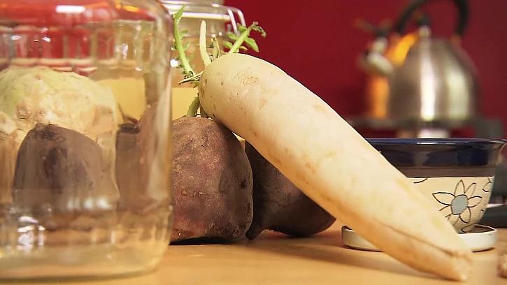 Zelenina pro kvašení