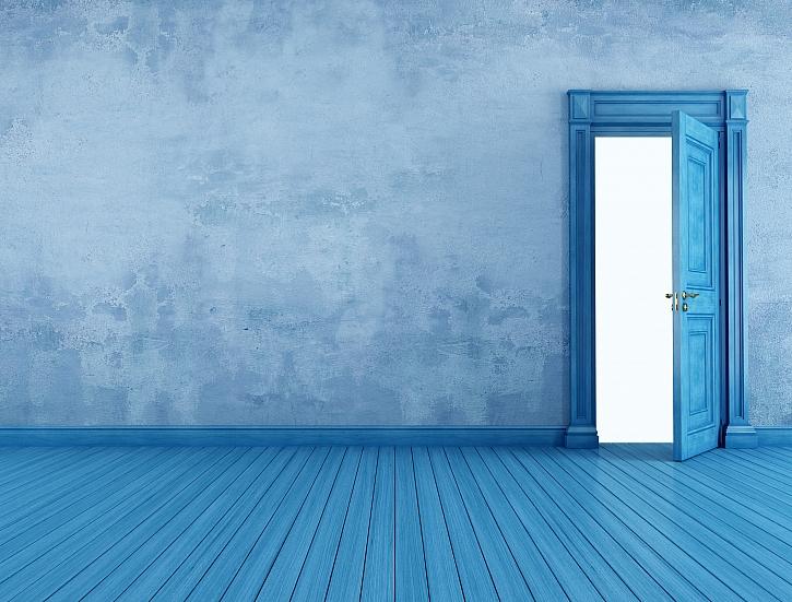 Modrý pokoj