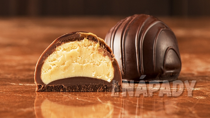 Tvarohové kuličky v čokoládě