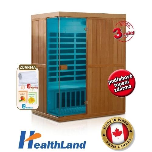 HEALTHLAND Infrasauna DeLuxe 3300 Carbon - BT