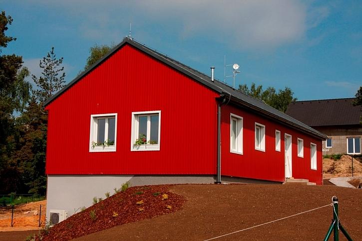 Plechový dům v Klínci