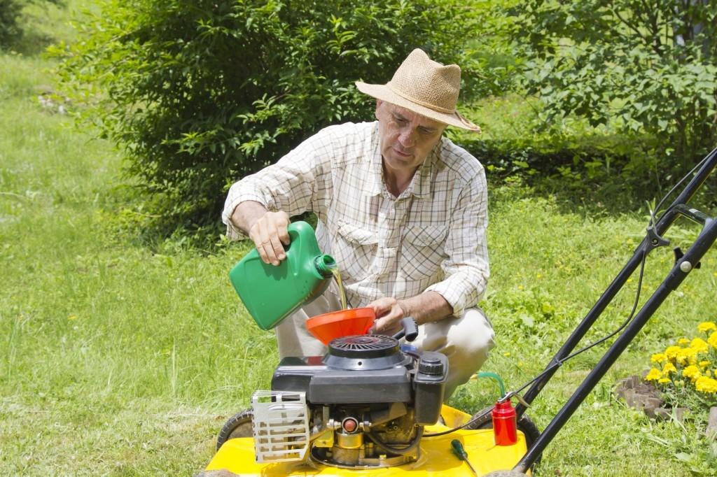 Oleje pro zahradní techniku