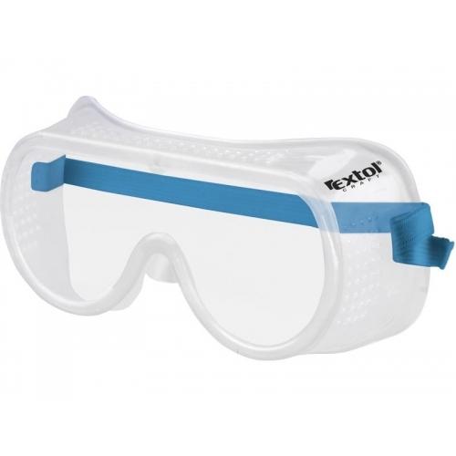 EXTOL CRAFT Brýle ochranné, přímo větrané