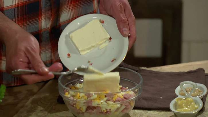 Přidání sýru