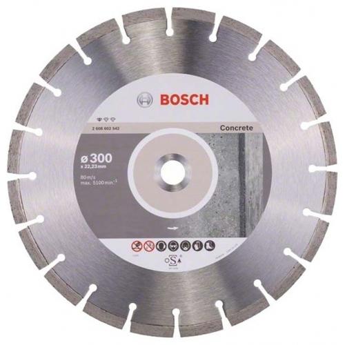 BOSCH Standard for Concrete Diamantový dělicí kotouč, 300 x 22,23 x 3,1 x 10 mm