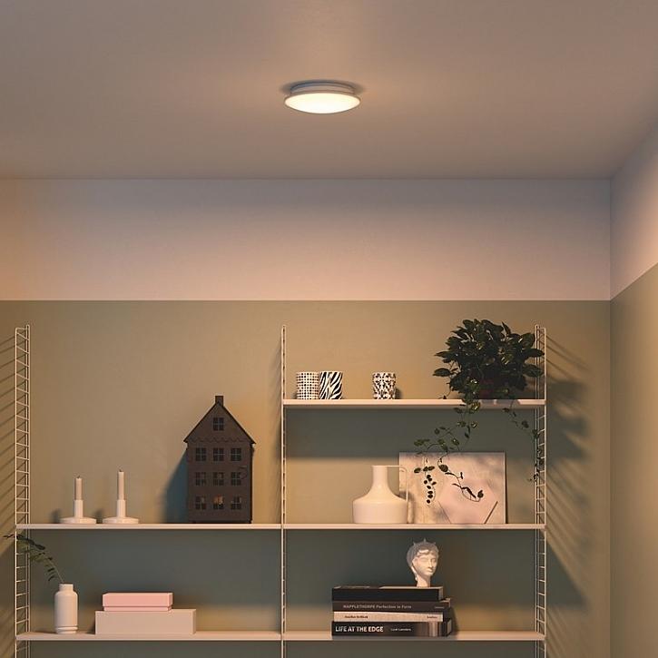 Svítidlo Mauve s teplou barvou světla vytváří úplně jinou atmosféru