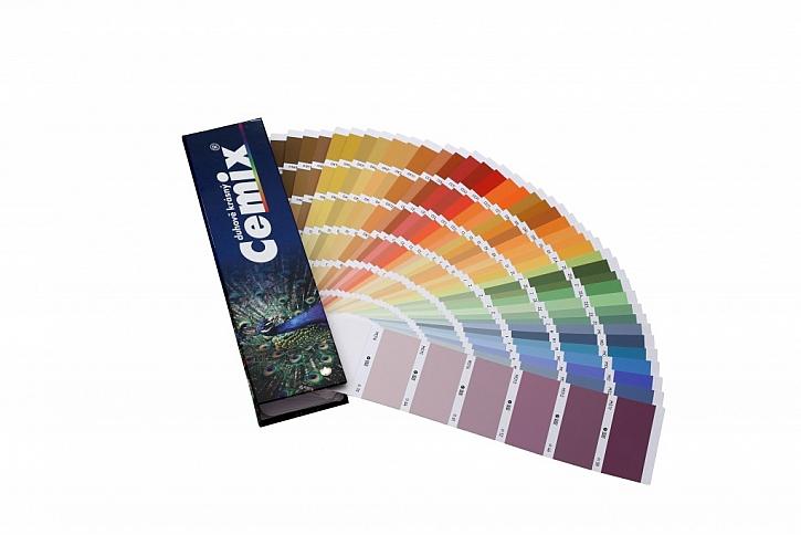 Přehledné řazení a značení barev