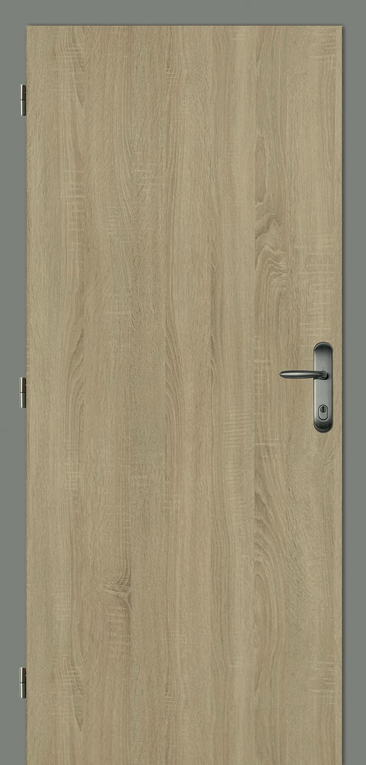 Vchodové dveře dřevěné2