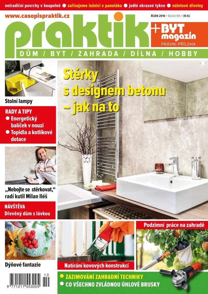 Časopis Praktik 10/2016 – obsah