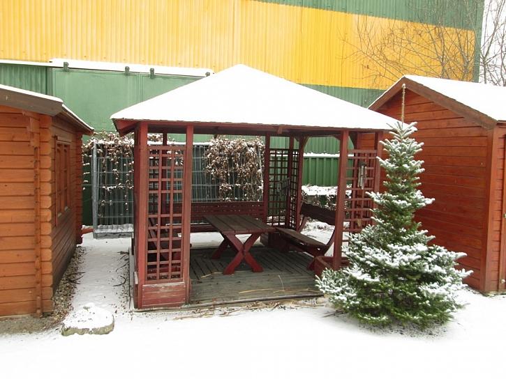 Jak připravit dřevěnou pergolu na zimu