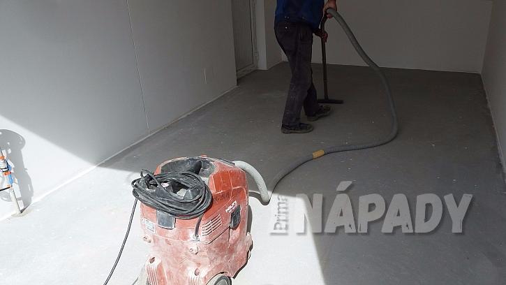 Jak zafixovat a ošetřit betonovou podlahu v garáži  2