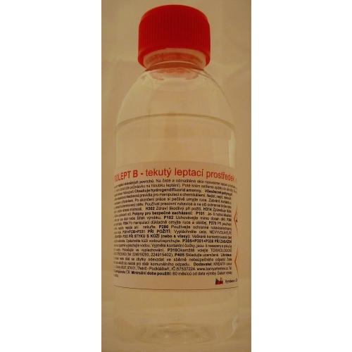Vitrolept leptací tekutina na sklo 70g
