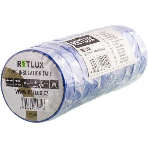 RETLUX RIT 012 izolační páska 10ks 0,13x15x10, modrá