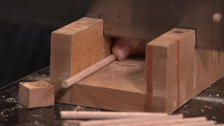 Výroba špulkovníku