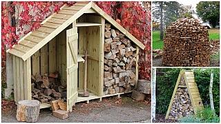 Dřevo do kamen: Nápady, jak prakticky i pohledně vyskládat dřevěná polena