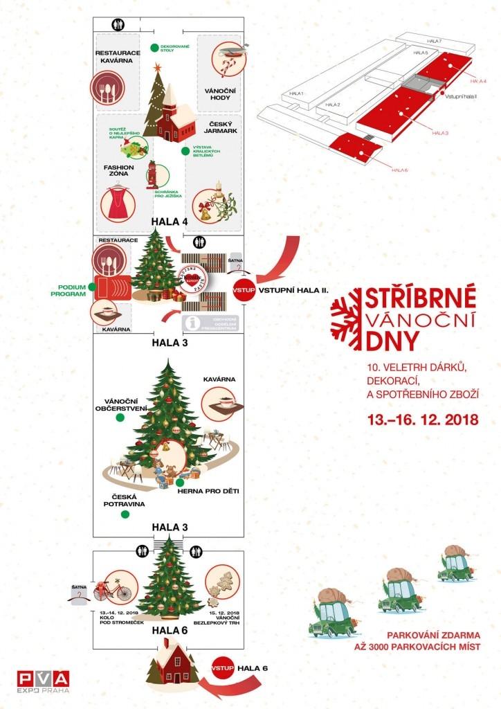 STŘÍBRNÉ VÁNOČNÍ DNY 13.–16. 12. 2018