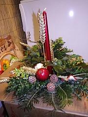Vánoční svícen, který zvládne každý