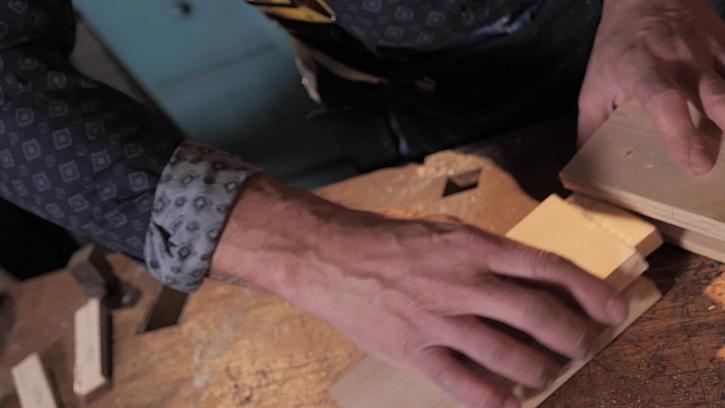 Spojování dřeva na čep a rozpor