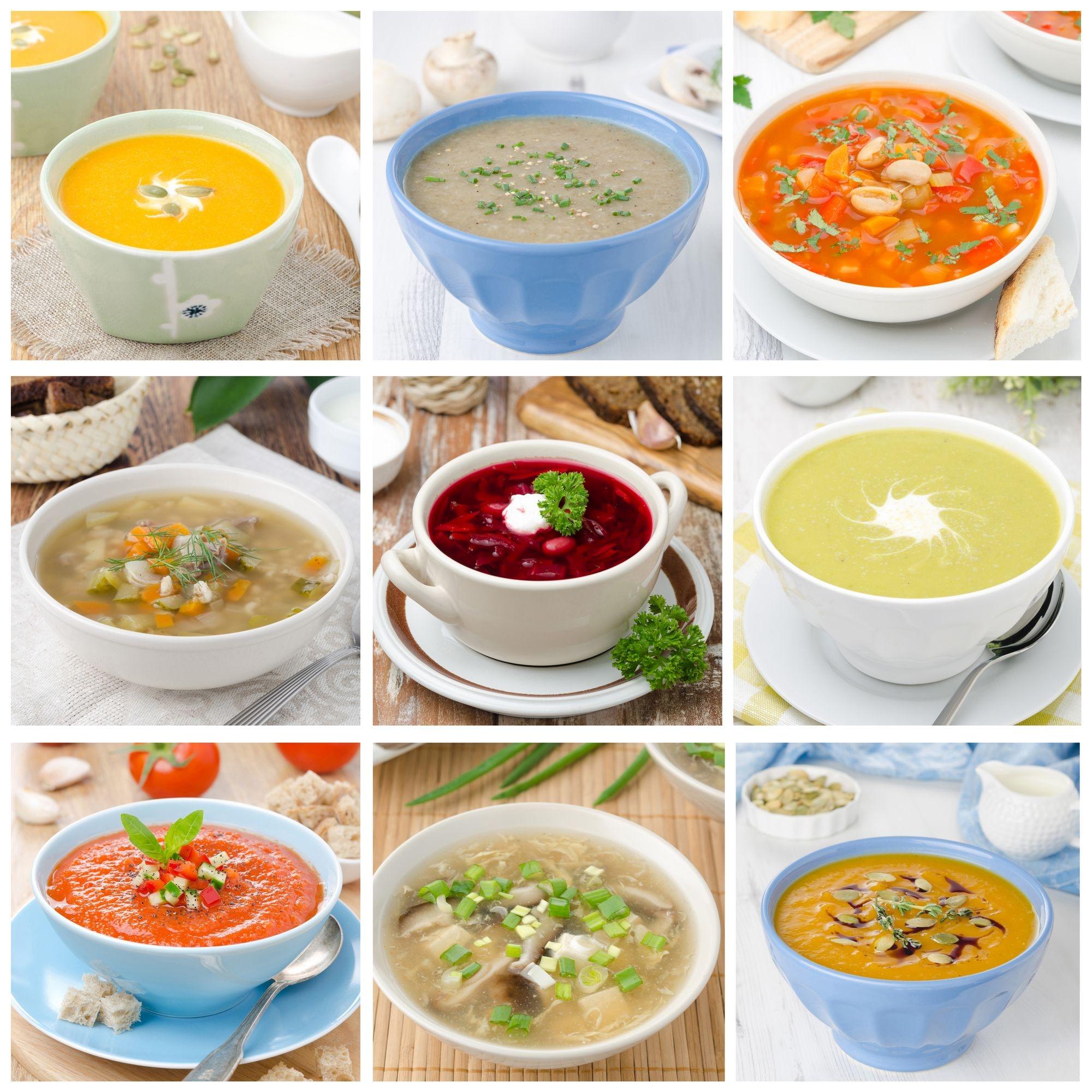 Nejlepší zimní polévky, které zahřejí