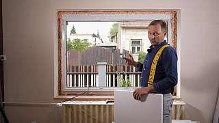 Začištění rohů po výměně oken je dalším krokem v našem seriálu o výměně oken