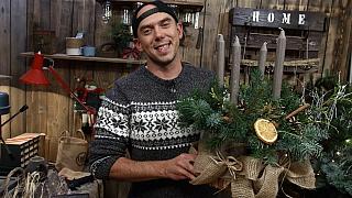 Vánoční inspirace Ládi Hrušky: Adventní věnec z plechovek