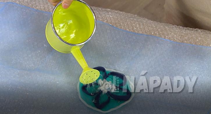 Nunofilcování: mýdlová voda