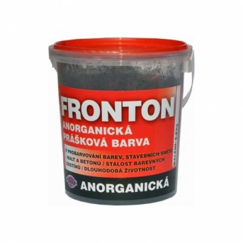 Fronton prášková barva do stavebních směsí malt a betonů, 0199 černá, 800 g