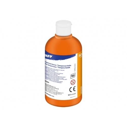 MFP temperové barvy 500ml oranžová