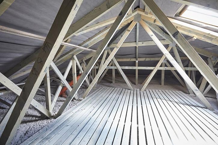 izolace střechy
