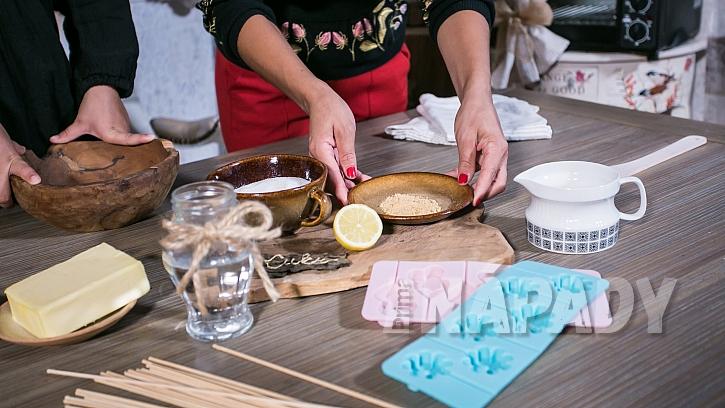 Recept na zázvorová lízátka proti nachlazení: smícháme zázvor s cukrem