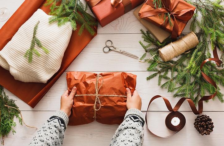 Balení měkkých dárků