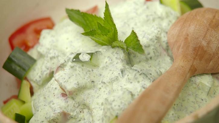 Recept na mátovou zálivku na salát i mátový sirup