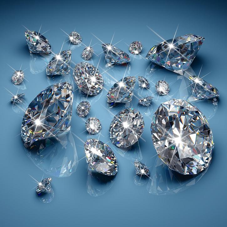 Unikátní diamant prodán za pět milionů (Zdroj: Depositphotos)