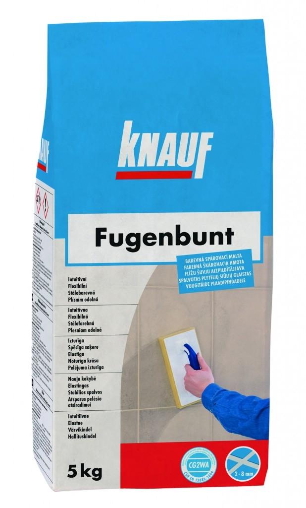 Nové balení spárovacích hmot Knauf Fugenbunt