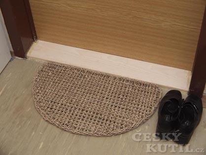 Výměna prahu u dveří (Zdroj: PePa)
