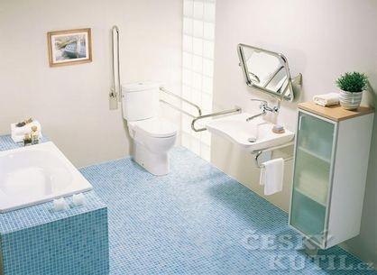 V koupelně pohodlně a bezpečně