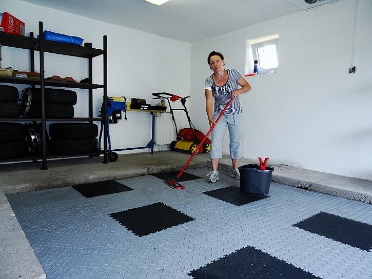 Fortelock - podlaha v garáži snadno a rychle