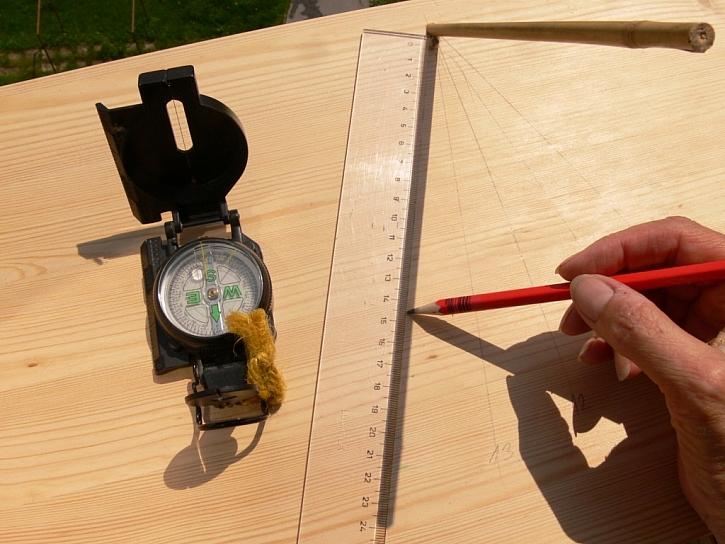 Jak vyrobit sluneční hodiny
