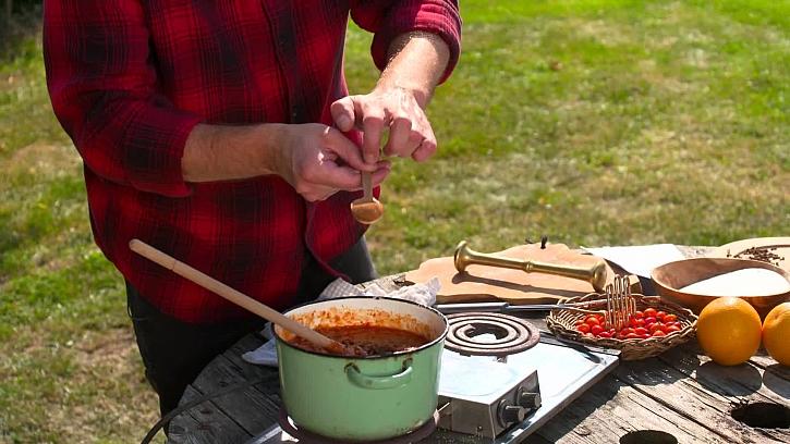 Ochucení šípkové marmelády