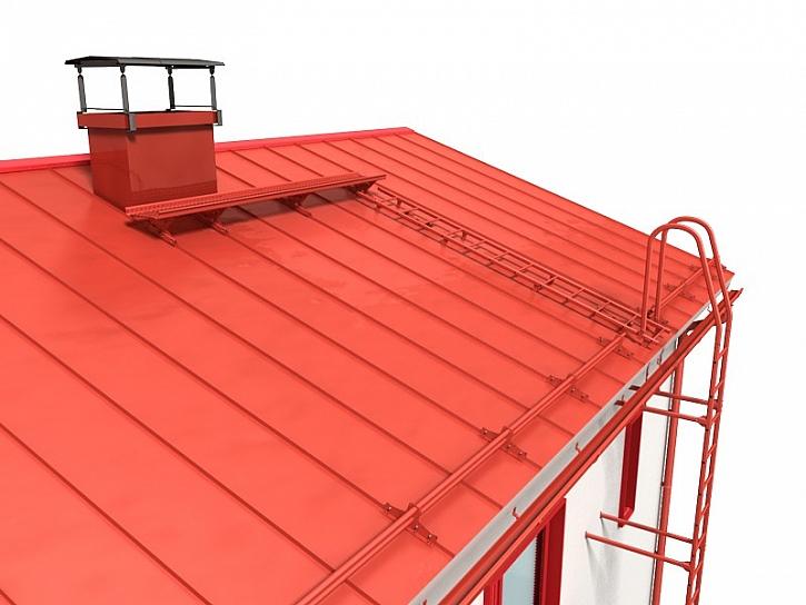 Bezpečná střecha: vybavte svůj dům zábranami proti sjíždění střechu ze střechy